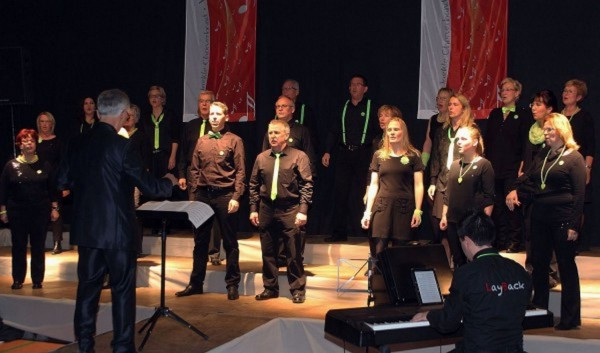 Auftritt Chorolympiade